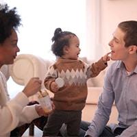 نحوه ارتباط با نوزاد در خانواده